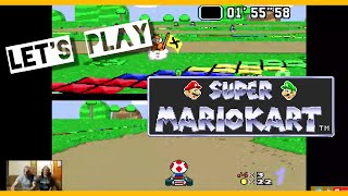 Let's Play Vs!  Super Mario Kart SNES