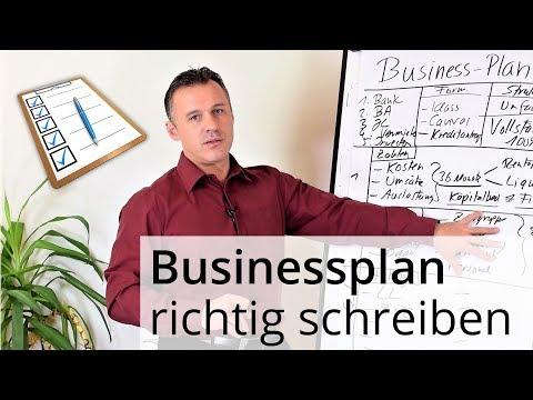 So schreibst du einen erfolgreichen Businessplan