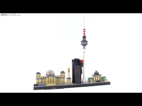 LEGO Architecture Berlin cityscape review! 21027