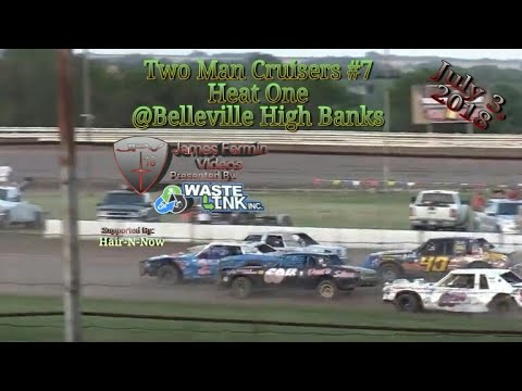 Two Man Cruisers #7, Heat, Belleville High Banks, 07/03/18