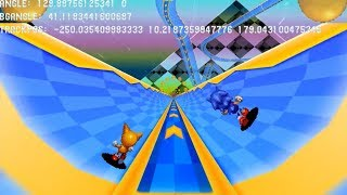 Sonic 2 HD Special Stage Tech Demo