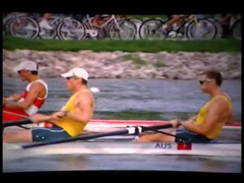 Horizontal Rowing Posture Demonstrated by Olympic Gold Medalists