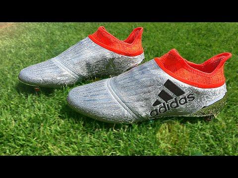 online store 67e5b 72b01 adidas X 16+ PURECHAOS (Thomas Müller & Gareth Bale ...