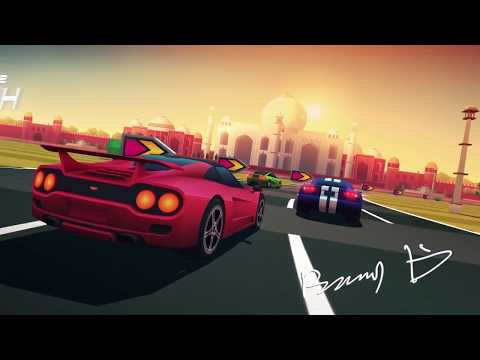 Horizon Chase Turbo - Trailer De Lanzamiento En Español Latino   PS4