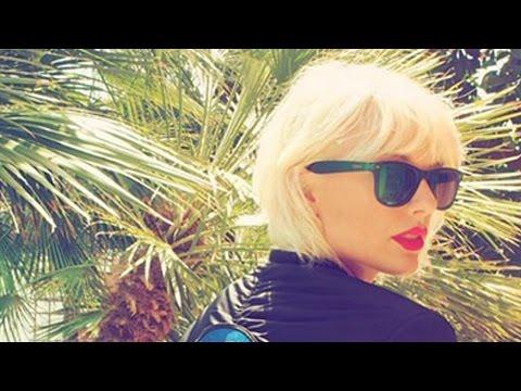 Taylor Swift Debuts Bleached Hair At...