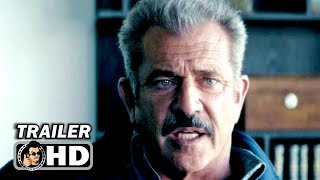 DRAGGED ACROSS CONCRETE Trailer (2019) Mel Gibson, Vince Vaughn Thriller Movie HD