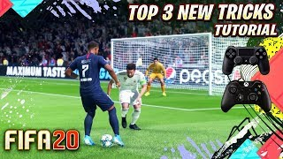 FIFA 20 TOP 3 NEW TRICKS YOU NEED TO KNOW - GAME CHANGING NEW TRICKS TO WIN GAMES !!!