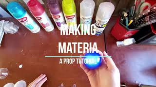 Making Materia: An Easy LED Prop Tutorial