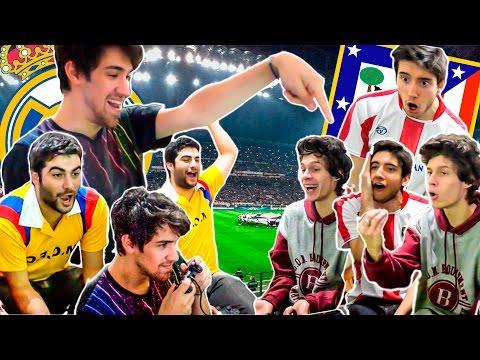 REAL MADRID vs ATLETICO MADRID | PES 2016 | FINAL Champions League | Previa