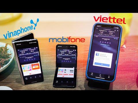 So sánh tốc độ 4G viettel, vina và MobiFone lúc 10h tối đứt cáp quang