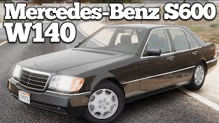 GTA V PC Mods - Mercedes-Benz S600 (W140) [DOWNLOAD]