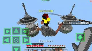 Trolling people in sky wars with girl skin 😂😂😂😂