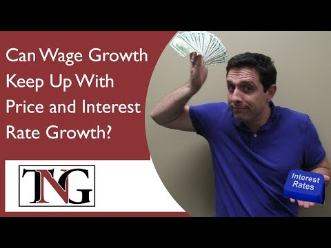 Can Wage Growth Keep Up With Price and Interest Rate Growth? #390