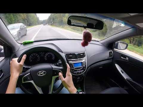 Тест гоупрошки GoPro Hero Session 5 Driving Hyundai Solaris I