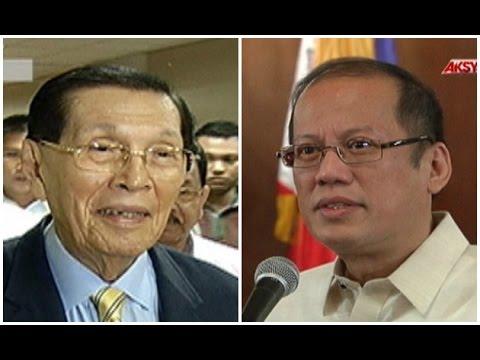 Enrile, ipinagtanggol ang pamilya Marcos vs. banat ni PNoy
