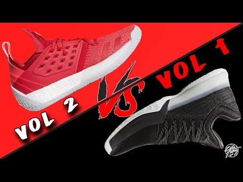 Adidas Harden Vol. 2 vs Harden Vol. 1!