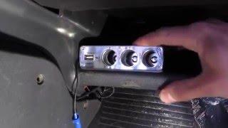 Как установить прикуриватель на ВАЗ 2115