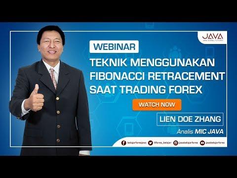 Webinar Teknik Menggunakan Fibonacci Retracement Saat Trading Forex