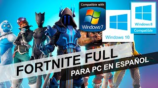 ¡2019! DOWNLOAD FORTNITE FOR PC FOR FREE! UPDATED TODAY! 1 LINK!