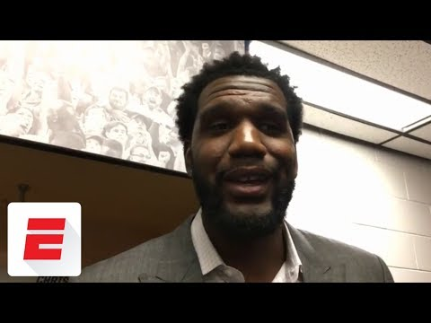 Greg Oden gives advice to Ohio State players in NCAA tournament | ESPN