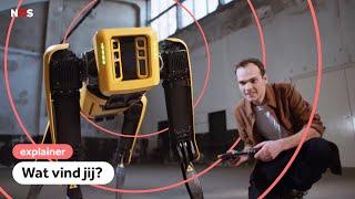 Dansende robots: doodeng of vet?