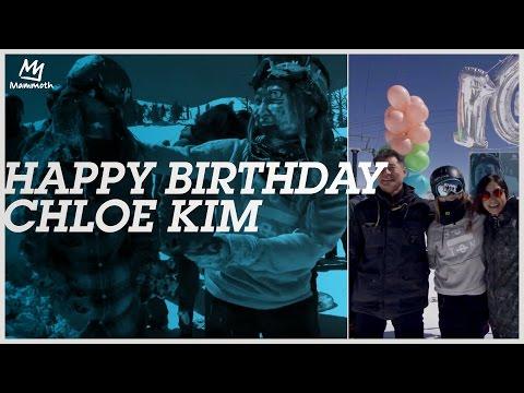 HAPPY BIRTHDAY CHLOE KIM