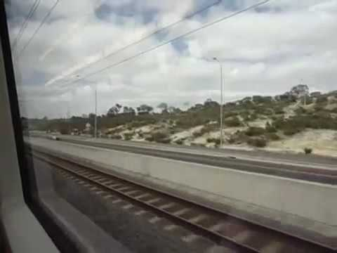 Perth, Adelaide, Melbourne Trains trams buses. John Coyle video
