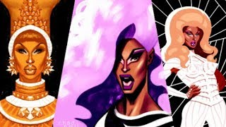 All Of Shea Couleé's Runway Looks thumbnail