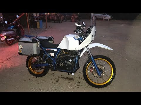 Royal Enfield Himalayan ( Rally concept ) by HDTCUSTOMS