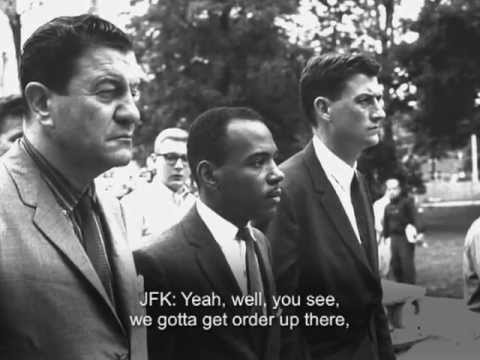 Listening In: JFK on Integration in University of Mississippi (September 30, 1962)