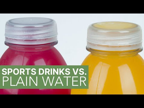 When You Need A Sports Drink VS. Plain Water VS. Electrolytes