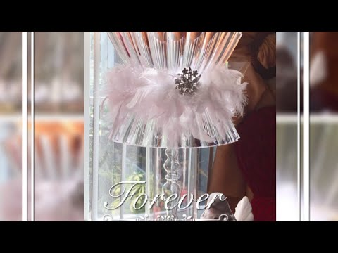 Dollar Tree DIY| Glam Lamp: Glam Home Decor Hacks Lamp 2017