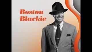 Star of the Month - Chester Morris as BOSTON BLACKIE