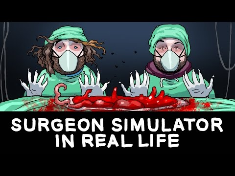 SURGEON SIMULATOR IN REAL LIFE (BEHIND THE SCENES)
