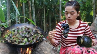 Yummy cooking snail recipe  Cooking skill