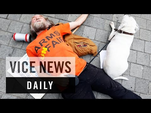 VICE News Daily: London Protesters Block Major Arms Fair