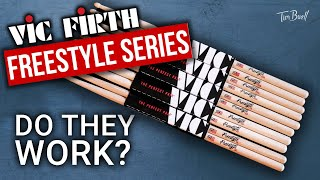 Do they work? | Vic Firth Freestyle Drumsticks | Product Demo