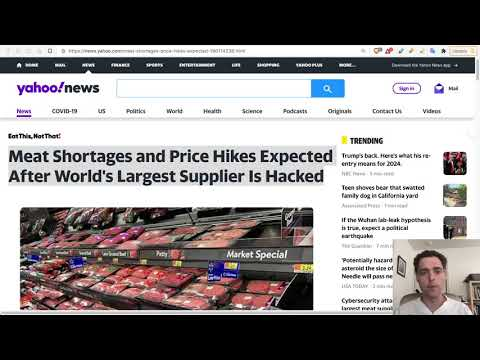 JBS Shutdown: Biggest Attack on Food in History - Shortages Expected