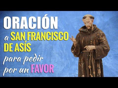 🙏 Oración a San Francisco de Asís para PEDIR UN FAVOR 🙇♂️