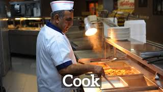 What is Cook? | How Does Cook Look? | How to Say Cook in English?