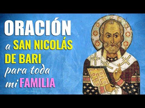 🙏 Oración a San Nicolás de Bari para Todos los MIEMBROS DE MI FAMILIA 👨👩👧👦