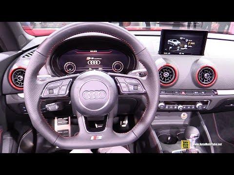 2017 Audi S3 Convertible - Interior Walkaround - 2016 Paris Motor Show