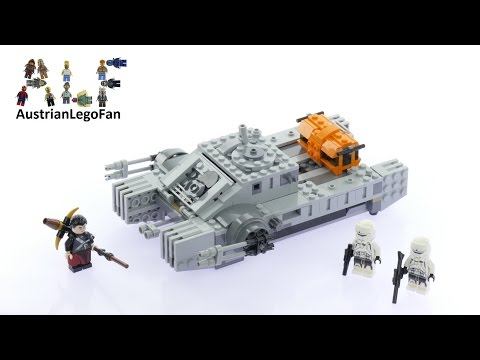 Lego Star Wars 75152 Imperial Assault Hovertank - Lego Speed Build Review