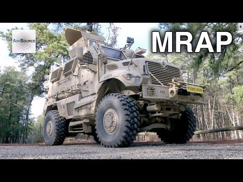 MRAP (Mine-Resistant Ambush Protected) Drivers Training