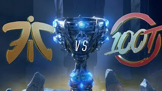 FNC vs 100 | Worlds Group Stage Day 8 | Fnatic vs 100 Thieves (2018)