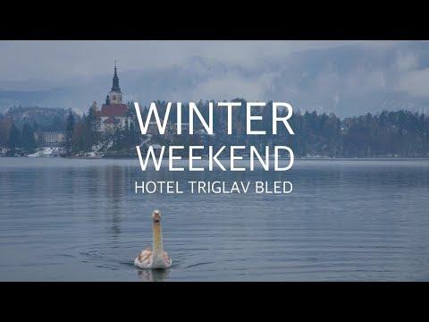 WINTER WEEKEND AT HOTEL TRIGLAV BLED. Lake Bled, Slovenia. Озеро Блед, Словения.