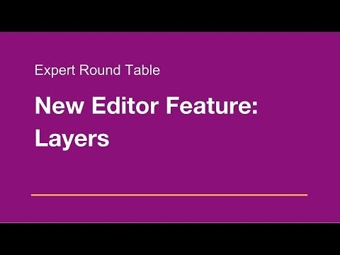 Wix.com Expert Community Round Table: New Editor Feature: Layer Panel