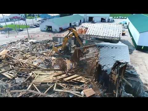 Star Of The West Old Fertilizer Building Demolition