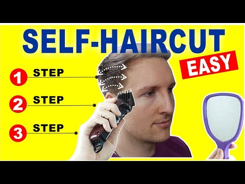 HOW TO CUT YOUR OWN HAIR | Quick and Easy Home Self Haircut Tutorial