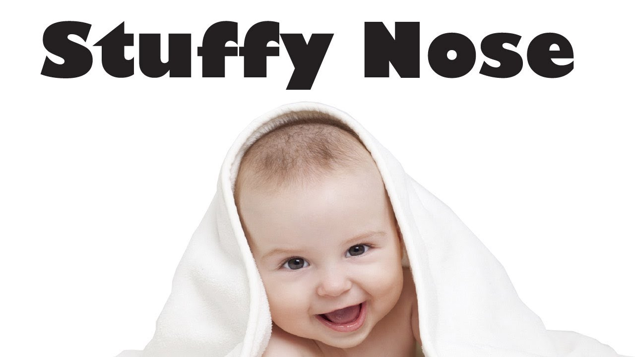 how to stop a stuffy nose immediately